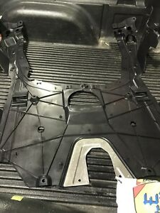 Skid plate for a newer stile civic