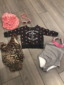 Baby girls summer lot - bathing suits + more - 6-12 months