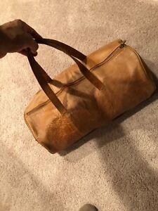 Weekender Leather Duffle Bag
