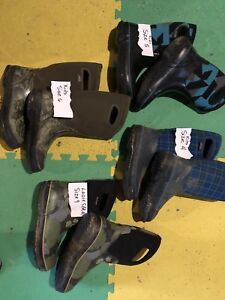 Bogs boots (Various sizes)