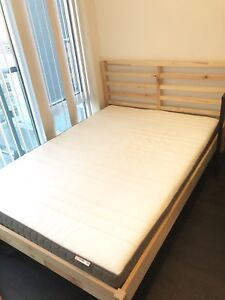 Double bedframe and mattress ( Can be bought separately)