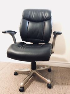 Luxury leather office or desk chair