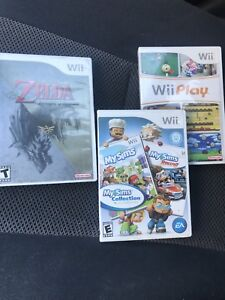 Nintendo Wii games for sale!