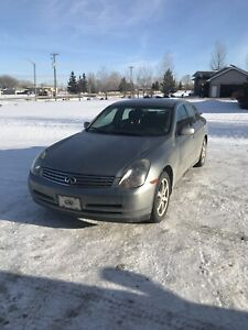 Infinity G35X (Safetied, Clean Title)