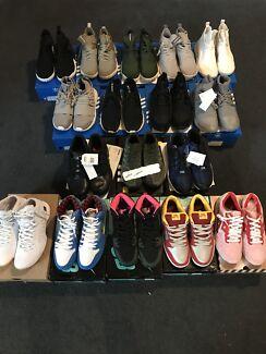 mens shoes nike adidas sz10.5-12 brand new
