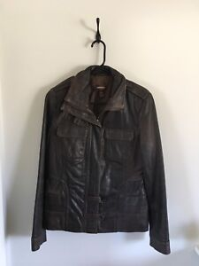Woman's Danier Leather Jacket Size M