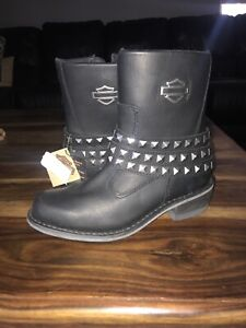 Ladies Harley Davidson leather boots
