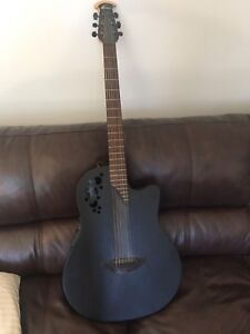 Ovation elite DS778TX acoustic with built in tuner and pickup
