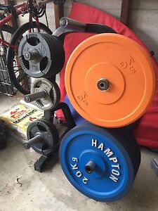 Bumper plates Oyster Bay Sutherland Area Preview