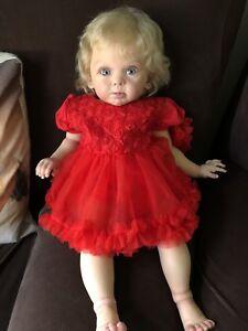 Realistic reborn baby doll