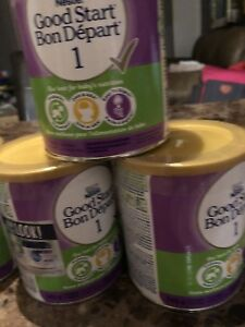 Lait bon depart good start 3 pots pour 25$