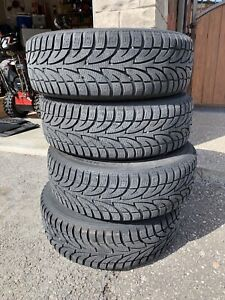 Used Winter Tires with Rims
