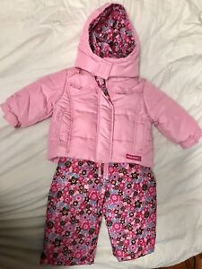 Snowsuit 12m for baby girl