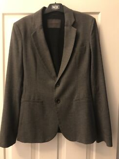 Scanlan and Theodore grey wool suit