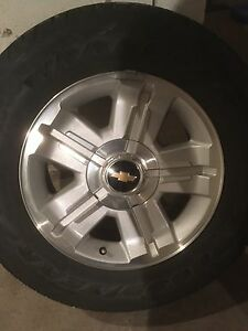 ***REDUCED***2013 Chevy 6 bolt rims and tires