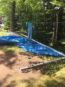 Trailer awning in excellent condition