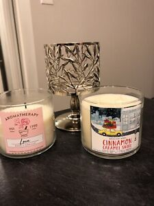 Bath and Body Works Candle + Stand
