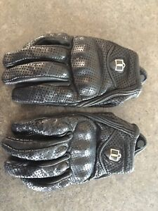 Women's Icon motorcycle gloves