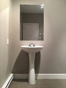 Lavabo robinet miroir