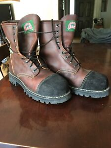 Size 8 Canada West Steel Toe Work Boots CSA approved