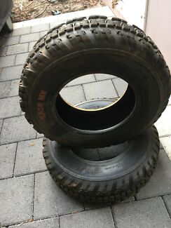 Maxxis RAZR MX quad atv front tyres Bedford Bayswater Area Preview