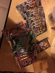 Yugioh vintage packs 40 packs