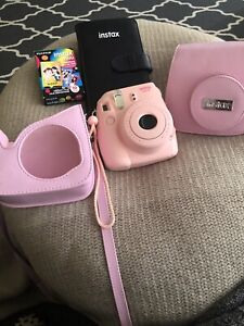 Fuji Instax instant Camera and accessories