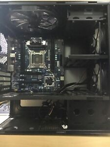 Computer Case and Dead Motherboard