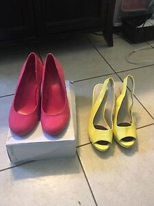 Women's Size 9 heels from Spring
