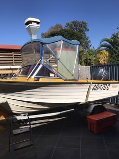 CruiseCraft Boat with Yamaha Motor 4 stroke Rochedale Brisbane South East Preview