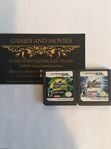 Nintendo ds, megaman starforce dragon & Pegasus