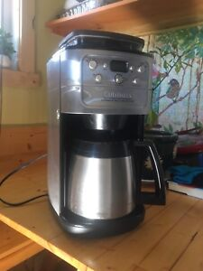 Cuisinart fully auto burr grind & brew coffee maker and carafe
