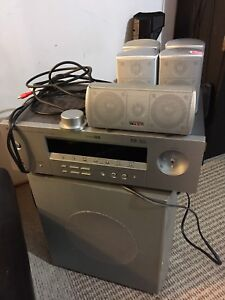 Infinity home speakers and Yamaha receiver  $40 obo