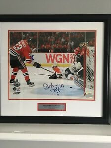 Dustin Byfuglien signed photo