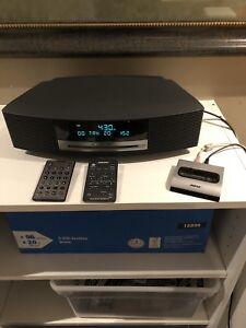 Bose Wave III mp3/CD/Bluetooth/Clock Radio