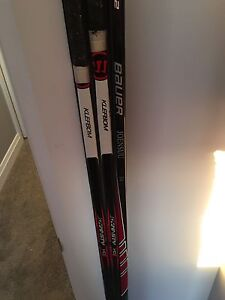 3 pro stock LH hockey sticks