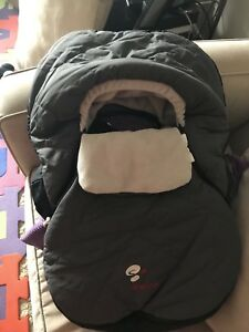 Baby car seat cover - Sherpa