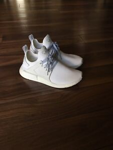 Like New Adidas NMD XR1 white on white limited edition