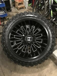 8x170, 22x12 hostile fury wheels with 35x12.5r22