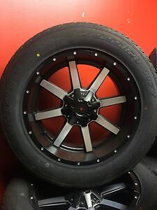 FUEL MAVERICKS WRAPPED IN 275/55R20 RUBBER FOR RAM 1500