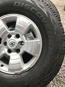 Toyota Wheels, brand new Cooper  A/T 3  285/70/17  ***REDUCED***