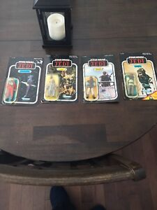Vintage Star Wars action figures