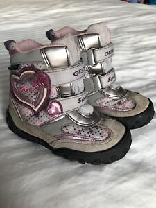 GEOX Sport - Toddler Girl Winter Boots - Size 8