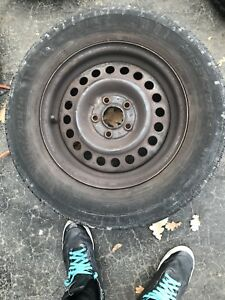Summer tires new on rims 14 inch 160$ nego