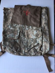 Canvas Camo Backpack