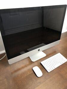 """27"""" iMac 3.4ghz i7 16GB RAM 2TB HDD"""