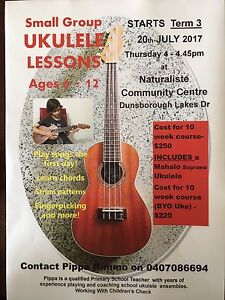 Ukulele lessons! Dunsborough Busselton Area Preview