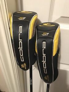 Cobra graphite men's golf clubs.