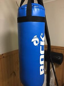 Boxing bag and stand + gloves Noble Park Greater Dandenong Preview