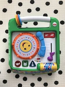 BN Fisher Price Laugh and Learn Remix Record Player